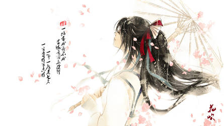 Happy Valentine's Day in China by huachui