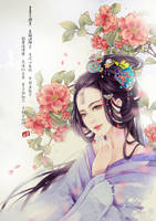 camellia by huachui