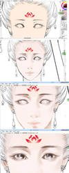 how to draw eyes by huachui