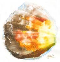 The Burning Bush by DappleHack
