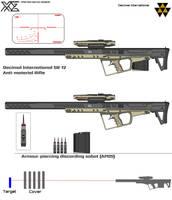 Decimal International SR-12 Anti-material Rifle by Master-Gecko-117