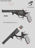Scavenger M-9 Revolver by Master-Gecko-117