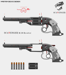 Scavenger M-10 Revolver by Master-Gecko-117