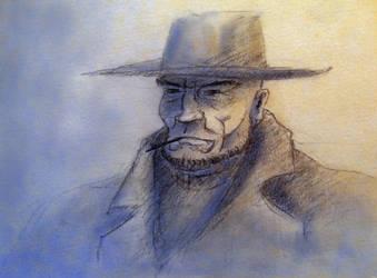 Old West Man by Denalentan