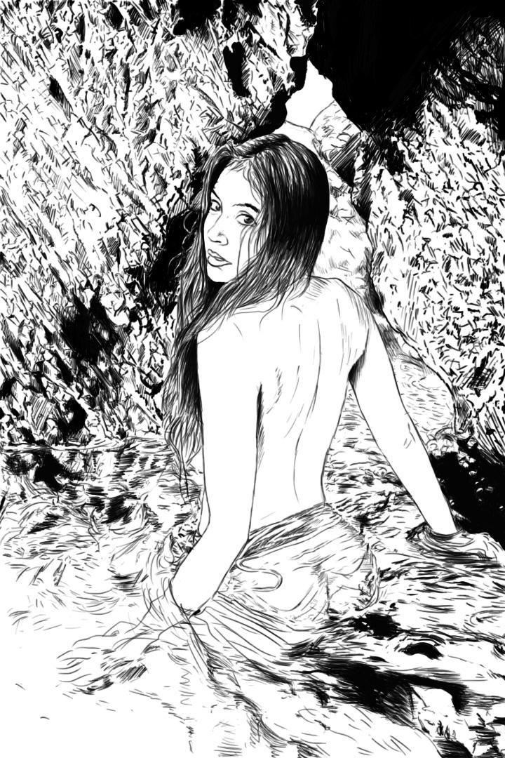 Beauty in the water by Denalentan