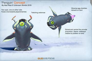 Subnautica DLC Creature 2 by Abiogenisis