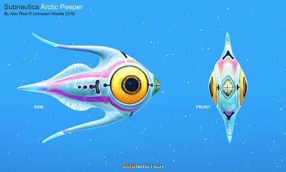 Arctic Peeper by Abiogenisis