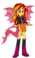 Siren Sunset Shimmer Darker by assassins-creed1999