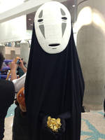 Take my gold - No Face by reenimochi