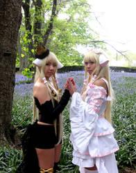 Chii and Freya by reenimochi