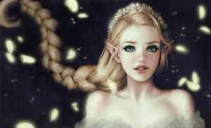 Elf girl by Hibisko