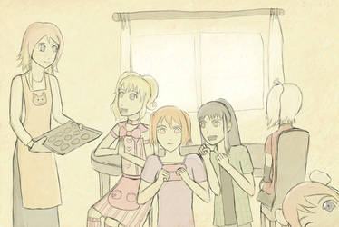 The Ladies of Sakevisual by Silver1bow
