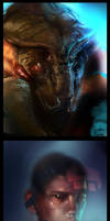 mass effect sketches by nathantwist