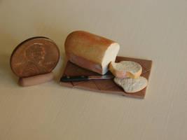 Sliced Loaf of Bread by birdielover