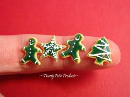 Green Variety: Christmas Cookies by birdielover
