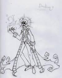 Persona design WIP by Dreadlum