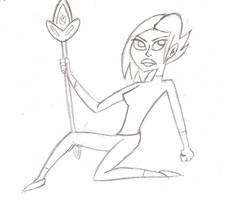 Elf Warrior Girl by Ajustice90