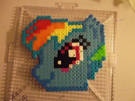 Rainbow Dash Head Sprite by Ajustice90