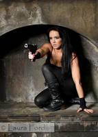 Laura W cosplaying 'Assassin Jane' - 09 by LadyTara