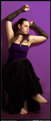 Sabrine 252 - Purple Dress by sabrine-photo-stock