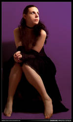 Sabrine 254 - Purple Dress by sabrine-photo-stock