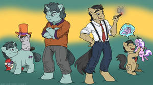 Some Dads by MustLoveFrogs