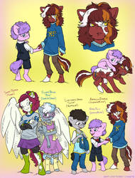 FutureSight: Royal and Friends (OC's) by MustLoveFrogs