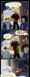 Magical Makeover Activate! (Undertale) by LadyIcepaw