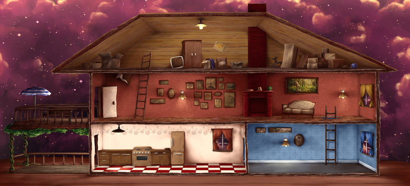 The Dollhouse Background Sprite By Ladyicepaw On Deviantart