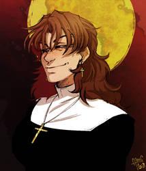 Big evil nun by enghurrd