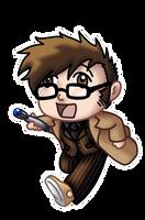 Chibi 10th Doctor v2 by TwinEnigma