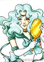 Sailor Neptune Art Card by TwinEnigma