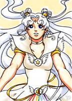 Sailor Cosmos Art Card by TwinEnigma