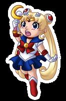 Chibi Sailor Moon v2 by TwinEnigma