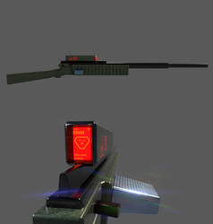 M920 Whiplash Railgun by planetrix15