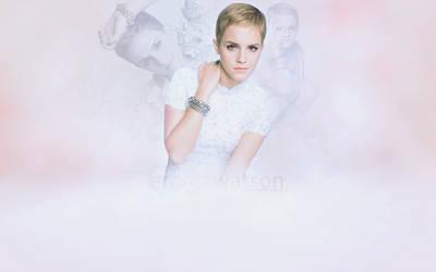Wallpaper: Emma Watson by Luluu10