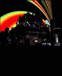 black rainbow by Enucleator