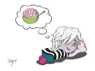 Dreaming iZOMBiE Gwen by b33tlenoir