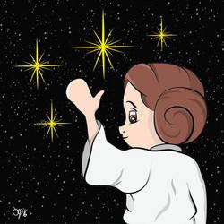Leia Goodbye by b33tlenoir