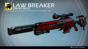 The Lawbreaker (Exotic Concept by Alex Sifferle) by Rageblade66