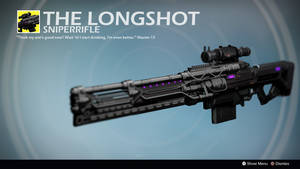 The Longshot (Exotic Concept by BanditNation) by Rageblade66