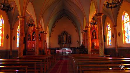 Church in Frutillar by REGGDIS