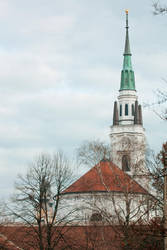 Church in the Sky by Bonnyflower