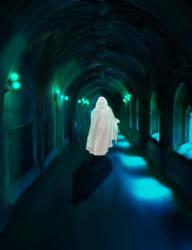 Saruman at Minas Morgul by Bonnyflower