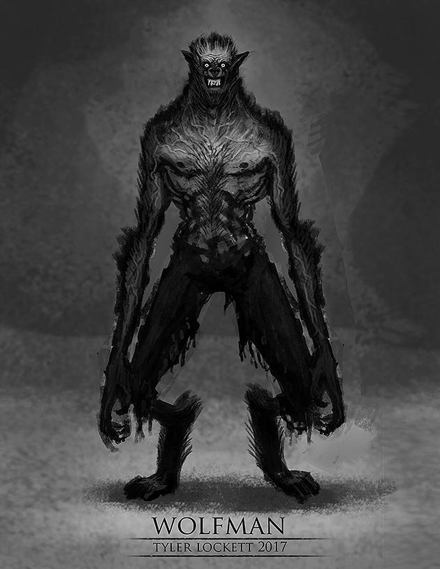 Wolfman1 by tylerlockett