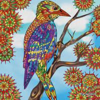 Fantasy Bird for  Bronwyn! by mockingbirdontree