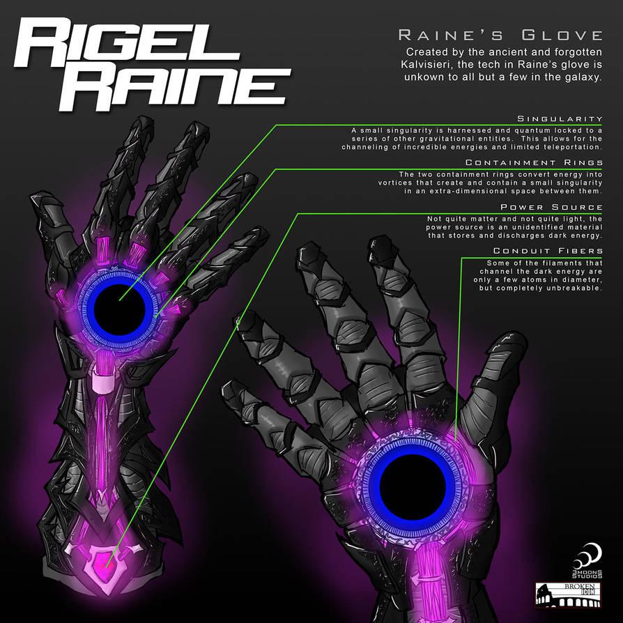 Raine's Singularity Glove by Nightlance1