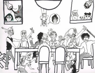 Fullmetal Alchemist: The Turkey Day by KibaWolf06
