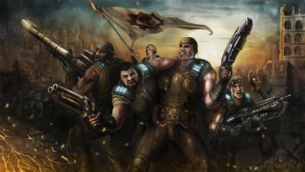 Gears of War Last Stand by LarryWilson
