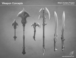 Witch Hunter - Weapon Group by LarryWilson